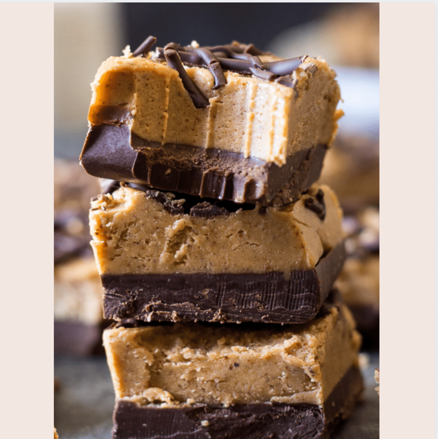PCOS friendly Almond butter fudge